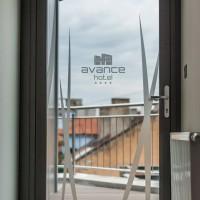 imitácia pieskovania pre Hotel Avance