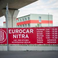 Banner 4,5×1,05m Eurocar