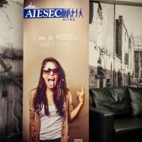 Roll-up stojan pre AIESEC Nitra