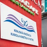 Tabuľa pre Krajskú knižnicu Nitra